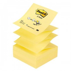 Blocco Post It Z Notes - giallo Canary - 76 x 76mm - 100 fogli - Post It