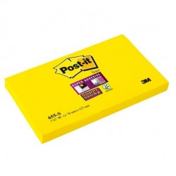 Blocco foglietti Post It Super Sticky - giallo oro - 76 x 127mm - 90 fogli - Post It