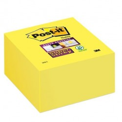 Blocco foglietti Post It Super Sticky - giallo oro - 76 x 76mm - 350 fogli - Post It