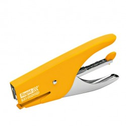 Cucitrice a pinza Rapid Supreme S51 Soft Grip - giallo - Rapid
