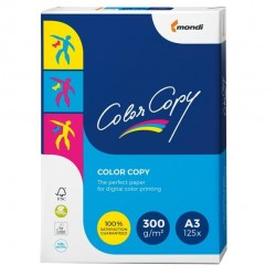 Carta Color Copy - 320 x 450 mm - 300 gr - bianco - Sra3 - Mondi conf. 125 fogli
