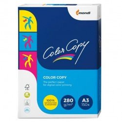 Carta Color Copy - 320 x 450 mm - 280 gr - bianco - Sra3 - Mondi - conf. 150 fogli