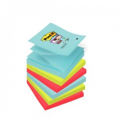 Blocco Post It Super Sticky Z Notes - Miami - 76 x 76mm - 90 fogli - Post It