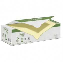Blocco Post It - giallo - 76 x 76mm - 100 fogli - carta riciclata - Post It - conf. 24 blocchi