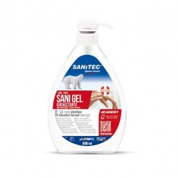 Gel igienizzante mani - 600 ml - Sanitec