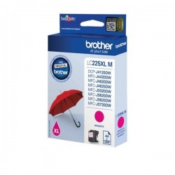 Brother - Cartuccia - Magenta - LC225XLM - 1200 pag