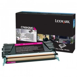 Lexmark/IBM - toner - magenta - C748H2MG - non return program - 10.000 pag
