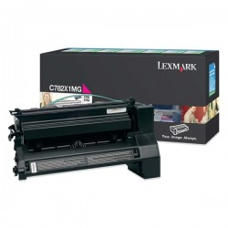 Lexmark/Ibm - Toner - Magenta - C782X1MG - return program - 15.000 pag